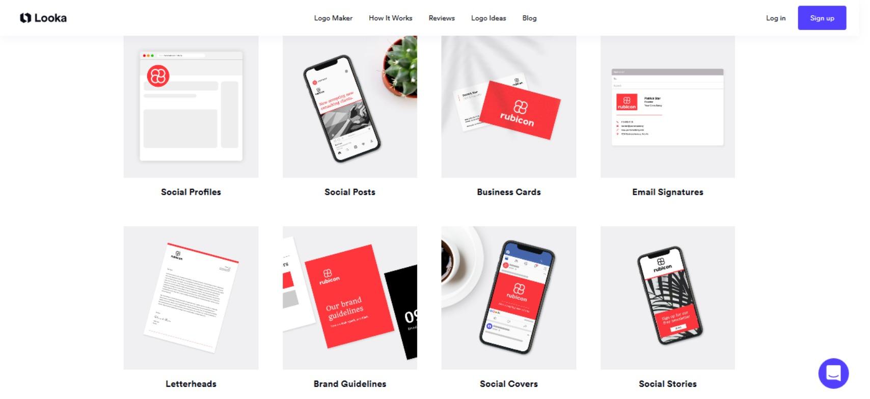 Logo maker Looka offers Brand Kit