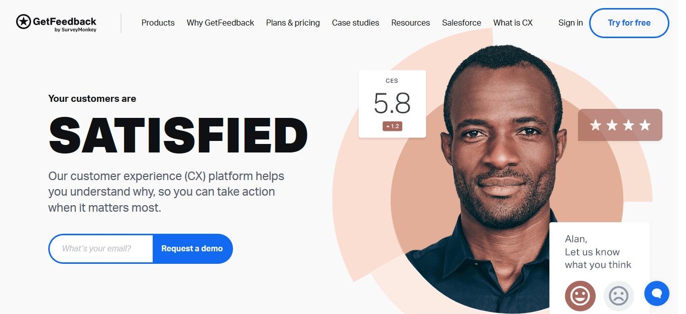 SurveyMonkey launches Customer Experience platform GetFeedback