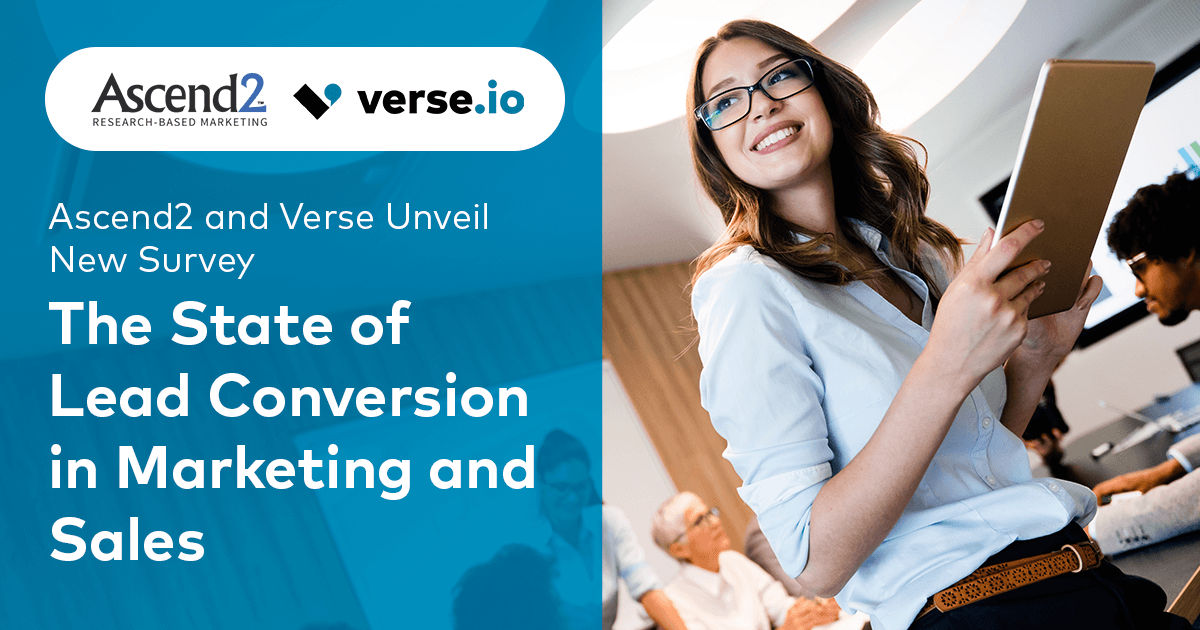 The state of lead conversion in marketing and sales