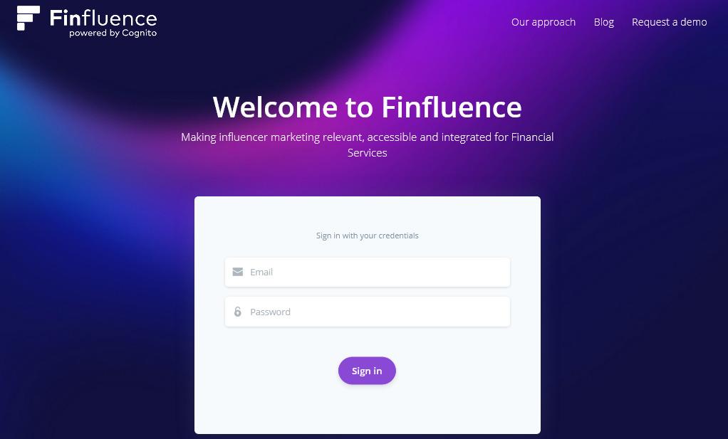 Cognito unveils influencer discovery platform Finfluence