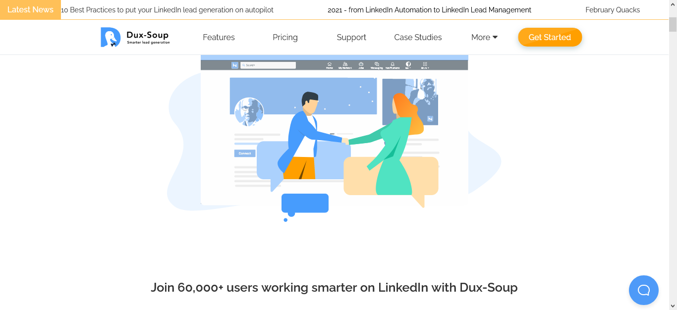 LinkedIn automation tool Dux-Soup unveils new features