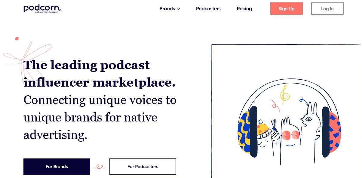 Entercom acquires podcast influencers marketplace Podcorn
